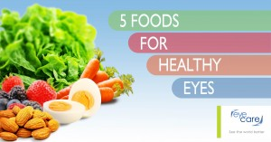 5 foods for healthy eyes